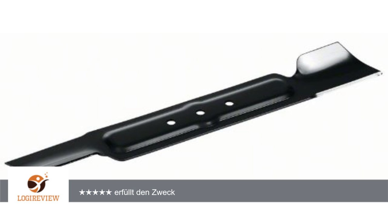 bosch ersatzmesser f r arm 34 erfahrungsbericht review test youtube. Black Bedroom Furniture Sets. Home Design Ideas