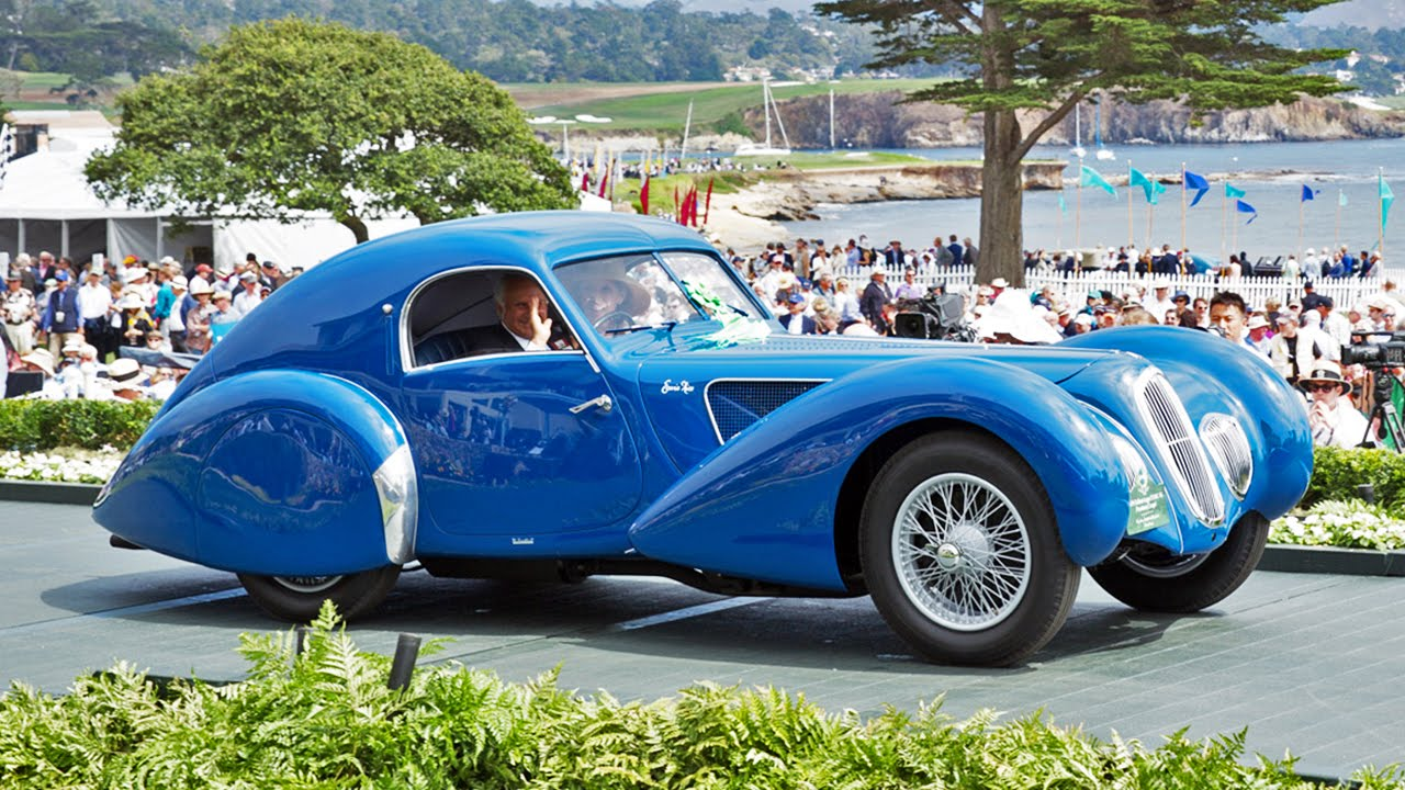 Concours D Elegance >> Replay 2015 Pebble Beach Concours D Elegance Full Live Stream