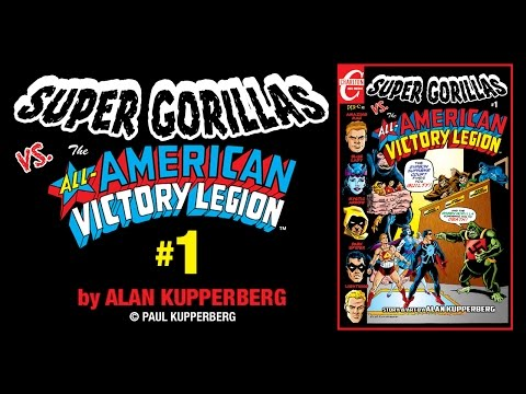 ALL-AMERICAN VICTORY LEGION by Alan Kupperberg