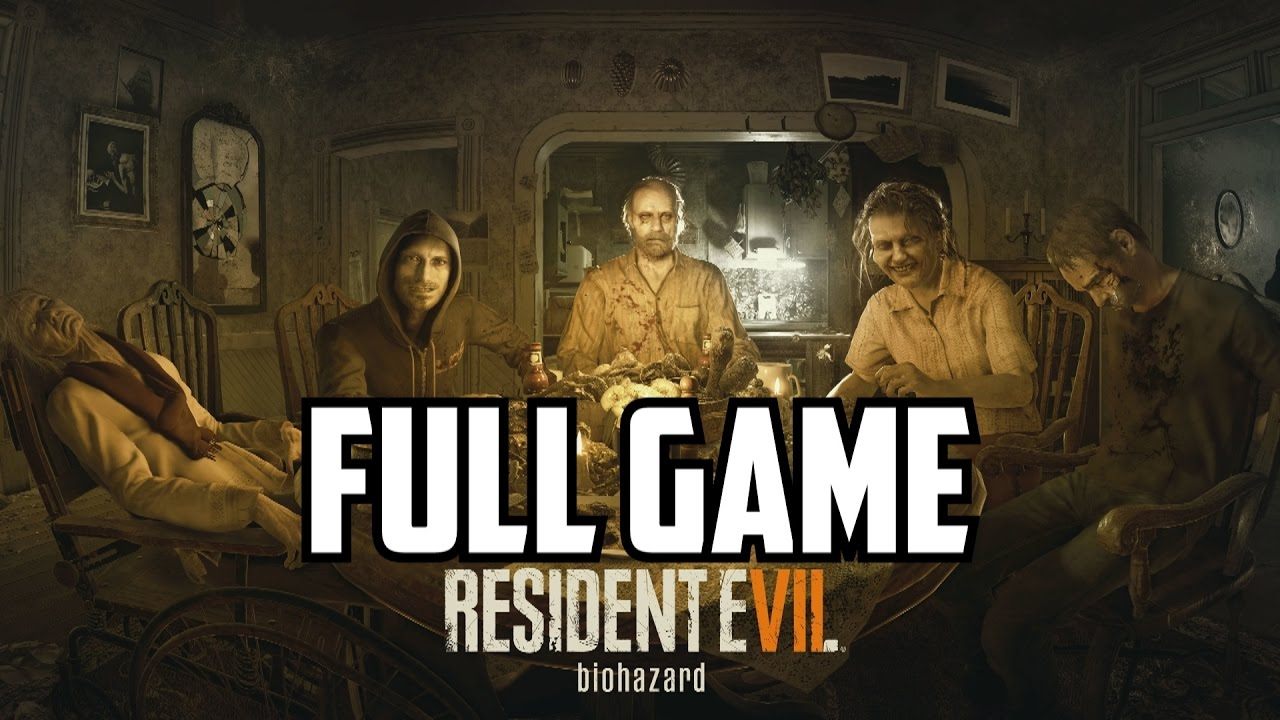 Resident Evil 7 Gameplay Walkthrough Part 1 Full Game Ending Vii Let S Play Review Ps4 Boss Fight Youtube