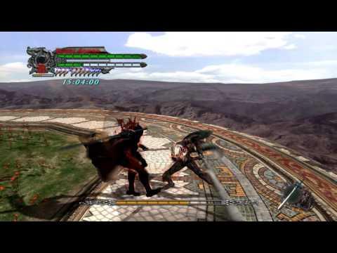 DMC4:SE Dante vs DeDM Dante (Chapter 2)
