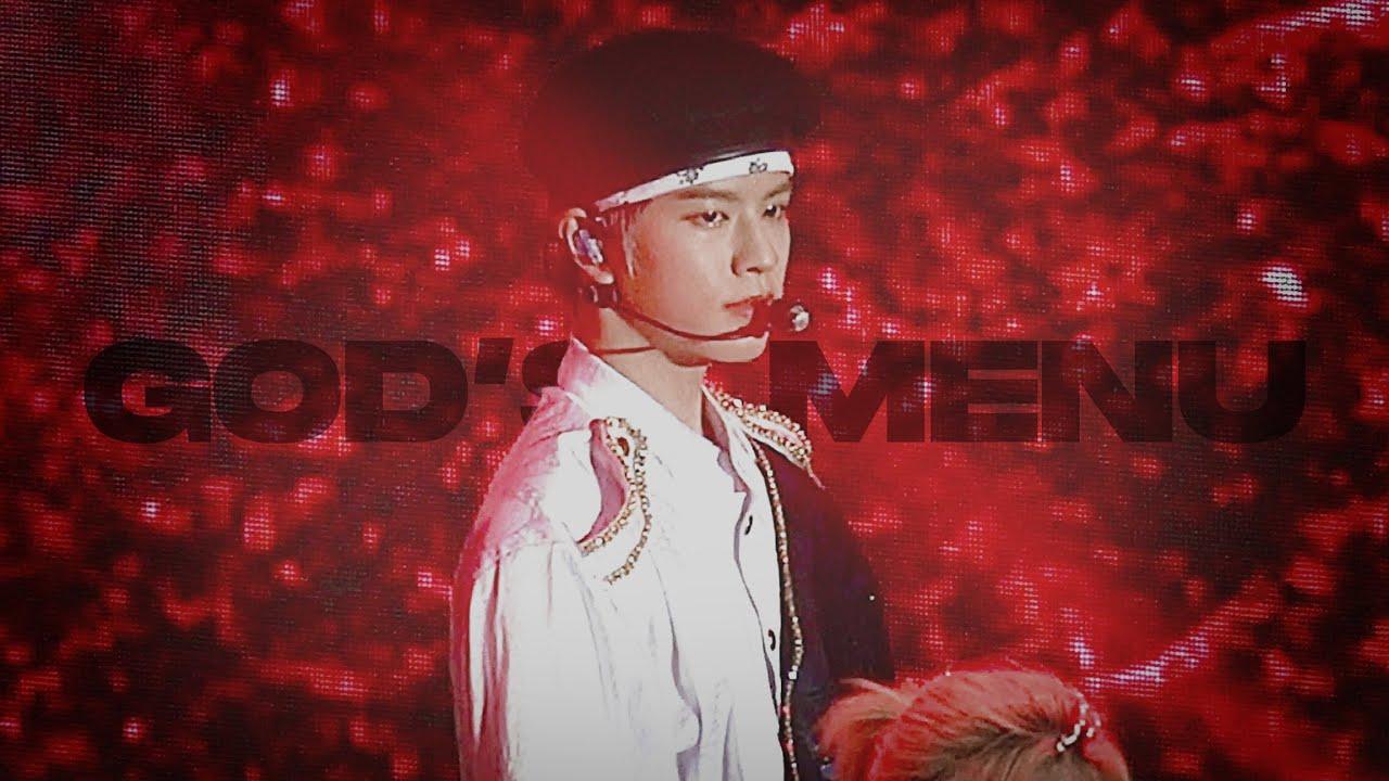 """200813 StrayKids """"神메뉴 (God's Menu)"""" SEUNGMIN focus @2020 SORIBADA BEST K-MUSIC AWARDS"""