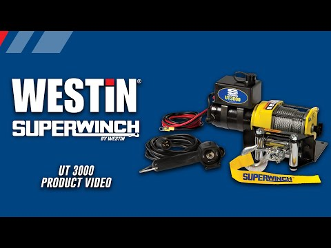 Superwinch UT 3000 Utility Winch Product Features