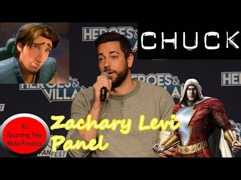 Heroes & Villains  Fest San Jose 2017: Zachary Levi Panel