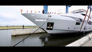 VIDEO of Superyacht Benetti VELOCE 140 Launch