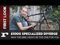 Why the £1000 Specialized Diverge E5 Sport might be the bike for you