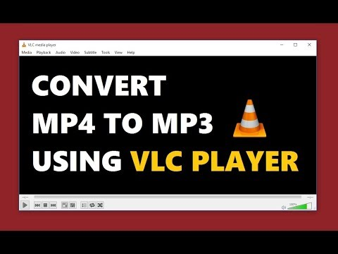 How To Convert MP4 to MP3 with VLC Media Player 2018 | Simple Way