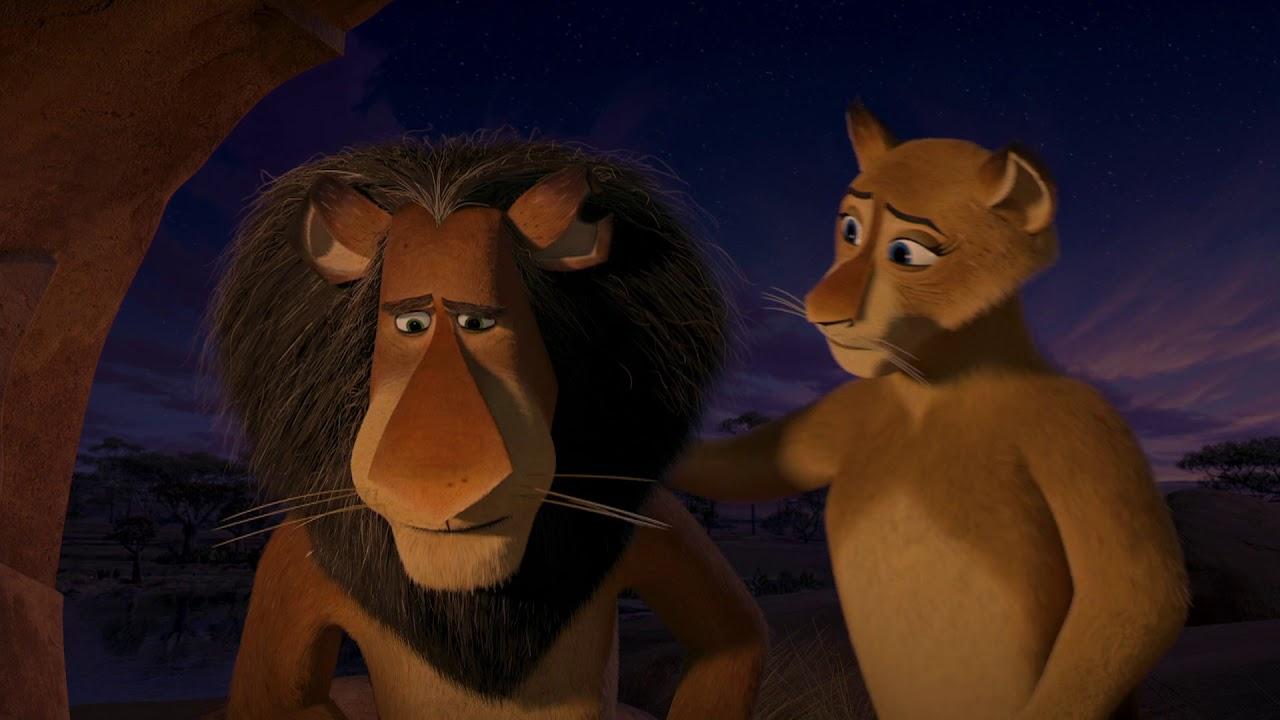 DreamWorks Madagascar | O melhor de alex parte 2 | Madagascar: Escape 2 Africa Filme