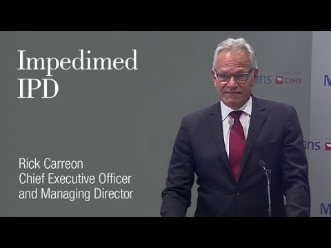 Impedimed: (ASX:IPD): Rick Carreon, Managing Director & Chief Executive Officer