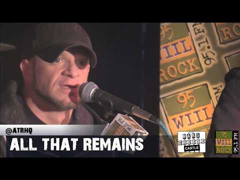 All That Remains  Studioeast Madness What If I Was Nothing & The Thunder Rolls