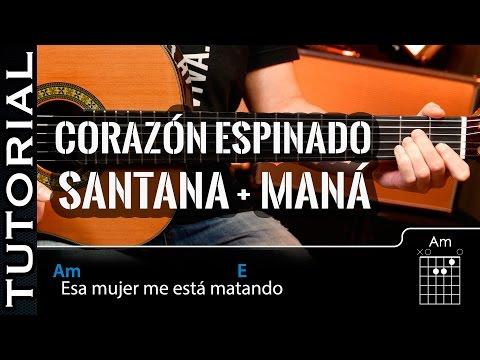 Canción fácil en guitarra CORAZÓN ESPINADO con dos acordes principiantes guitarraviva