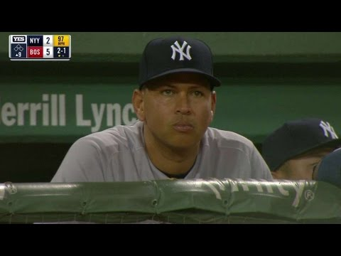 NYY@BOS: Fenway Park crowd chants for A-Rod
