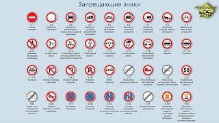 Запрещающие знаки. Часть 1(, 2016-03-28T18:48:12.000Z)