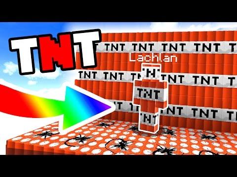 WE ARE TNT (MINECRAFT SKYWARS TROLLING)