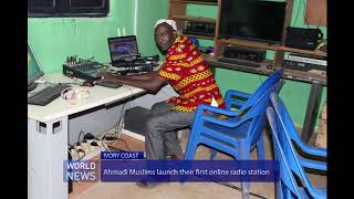 Ivory Coast Ahmadis launch new radio station