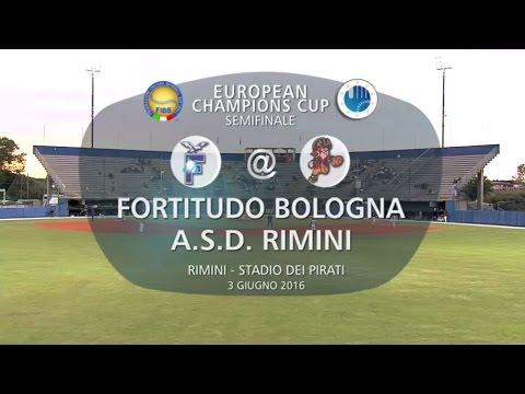 European Club Champions Cup 2016 Semifinal: Rimini v Bologna