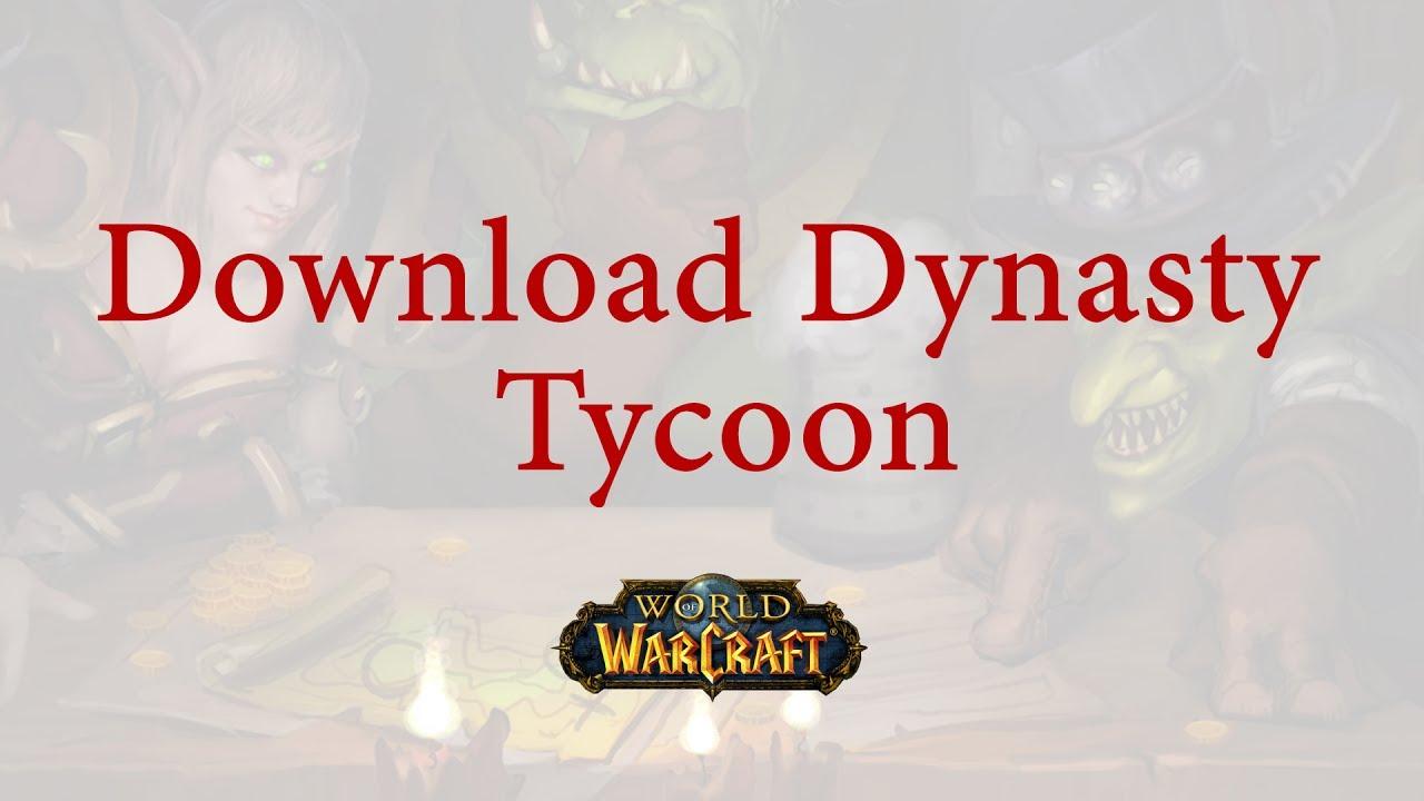 Tycoon wow addon 6. 2 tycoon wow.
