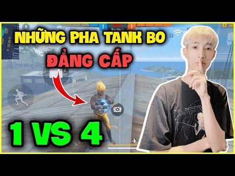 FREE FIRE   Những Pha Tank Bo 1vs4 Đẳng Cấp Của Đức Mõm, Tấu Hài Cực Mạnh !!!