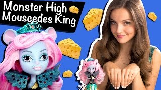 Mouscedes King Boo York, Boo York (Мауседес Кинг Бу Йорк) Monster High Обзор\ Review CMJ90