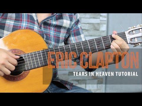 Como tocar TEARS IN HEAVEN de Eric Clapton - Tutorial Guitarra + TAB