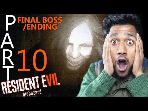 """ENDING/FINAL BOSS MAHA EPISODE"" Resident Evil 7 : Biohazard Hindi Walkthrough #10"