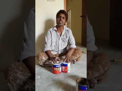 "Pakistani Paint Wala Singing ""Tadap Tadap Ke Is Dil Se"" In His Amazing Voice - Must Watch"