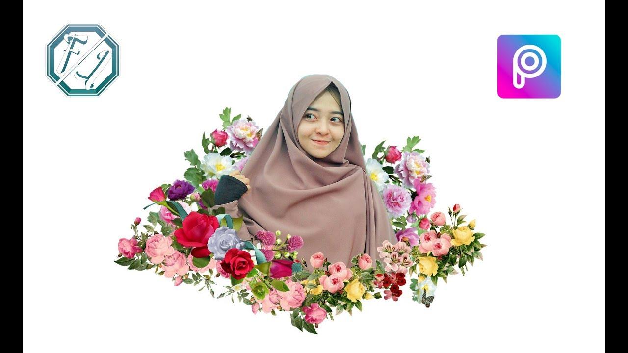 Cara Edit Foto Magic Flower Effect #1