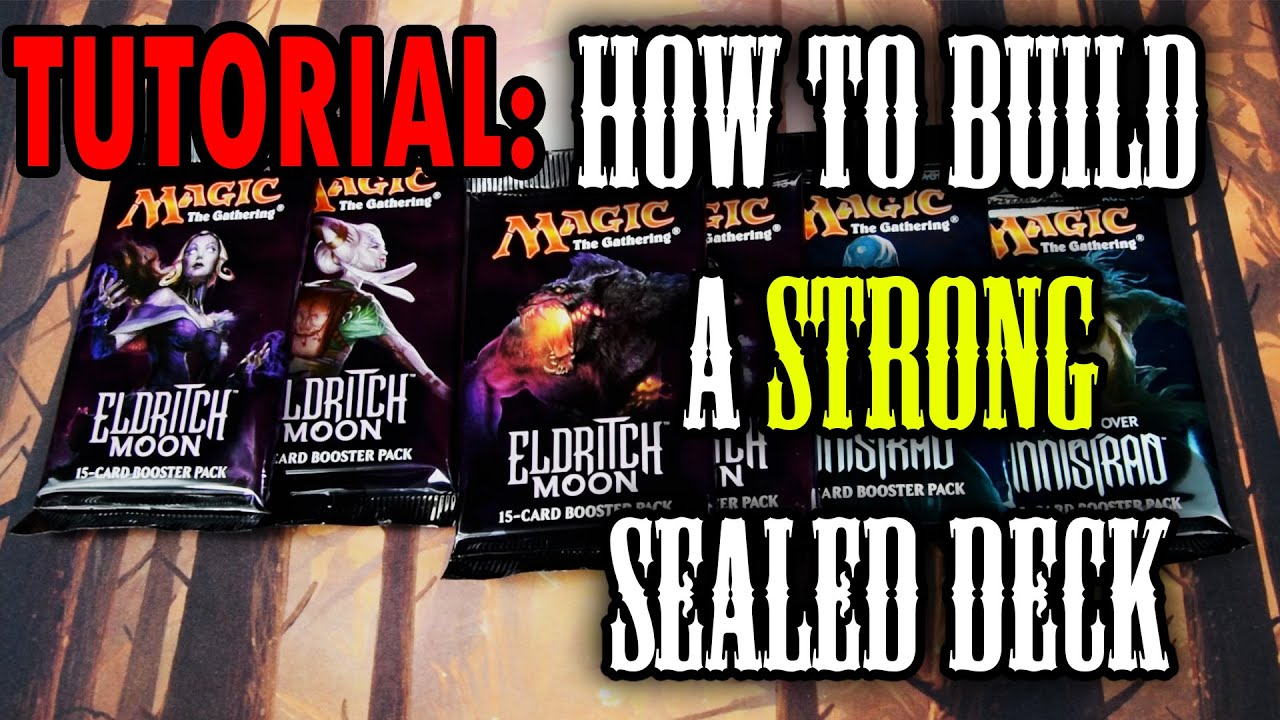Mtg  Guide To Build A Strong Sealed Deck! **tutorial** Part 1