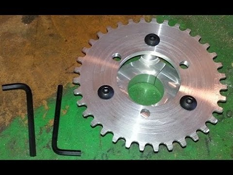 How To Install Sprocket Adapter On a Motorized Bicycle