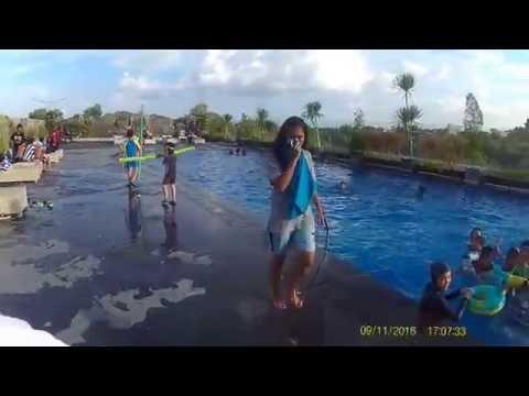 Kolam Renang Hotel Platinum, Balikpapan, Indonesia. HD 1080p