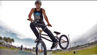 Webisode 25: Jackie does Bri Flips on his Bike: So is he Pro?