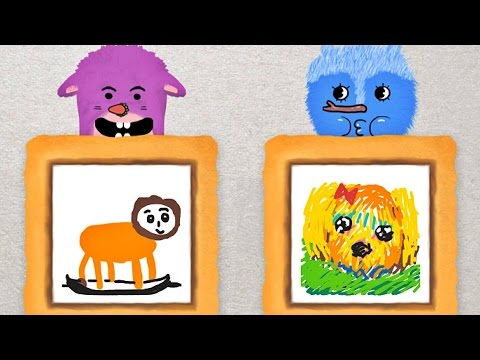 Coosi Box - Free Interactive Drawing App For Kids (Android + iOS + Kindle Fire)