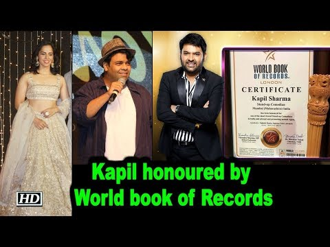 Kapil Sharma honoured by World book of Records, Celebs Congratulates him Mp3