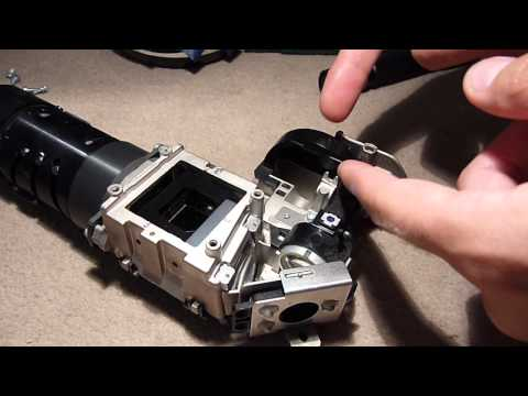 How To Clean Amp Service A Dlp Projector Tutorial Doovi