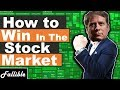 How To Win In The Stock Market | How to be a Profitable Day Trader