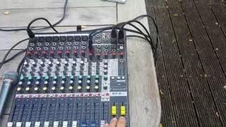 Soundcraft Efx8 + Setup!