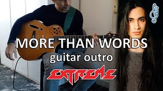 More than words guitar outro – Extreme