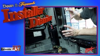 Just a basic subwoofer amp install in a Range Rover Installer Diaries 237