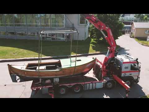 Kommer trebåten til
