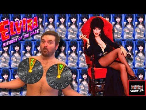 BIG WINS! Elvira Slot Machine LIVE PLAY and Bonuses