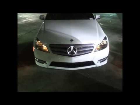 Mercedes benz c 450 illuminated front grill doovi for Illuminated star mercedes benz installation