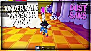 ROBLOX Undertale Monster Mania: Dust Sans & Underfell Toriel