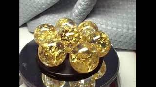 宇宙の金箔