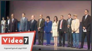 افتتاح مهرجان القومى للمسرح بحضور وزير الثقافة وتكريم الفنانين
