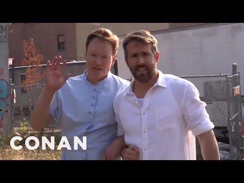 "Behind The Scenes Of ""The Notebook 2"" With Ryan Reynolds & Conan"