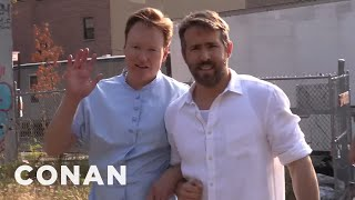 """Behind The Scenes Of """"The Notebook 2"""" With Ryan Reynolds & Conan"""