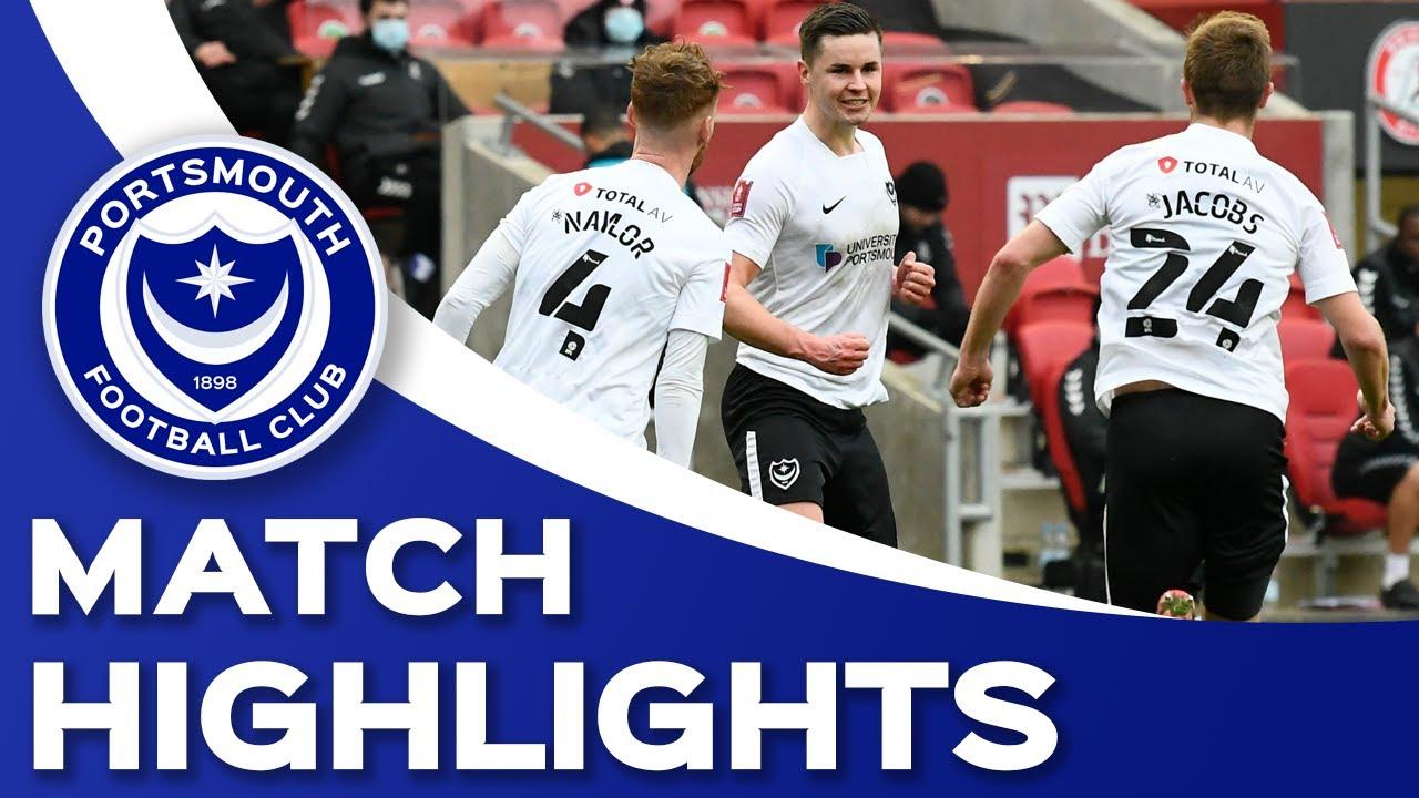 Highlights | Bristol City 2-1 Pompey