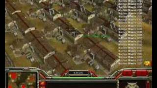 command conquer generals zero hour 100 nuclear missile