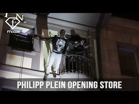 ff9db592ae Philipp Plein Opening store | FashionTV - YouTube