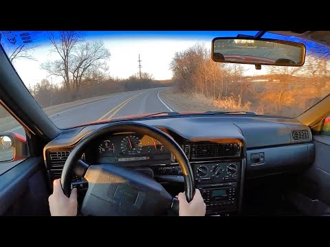 1997 Volvo 850 R 5-Speed Manual - POV First Drive On All New Suspension